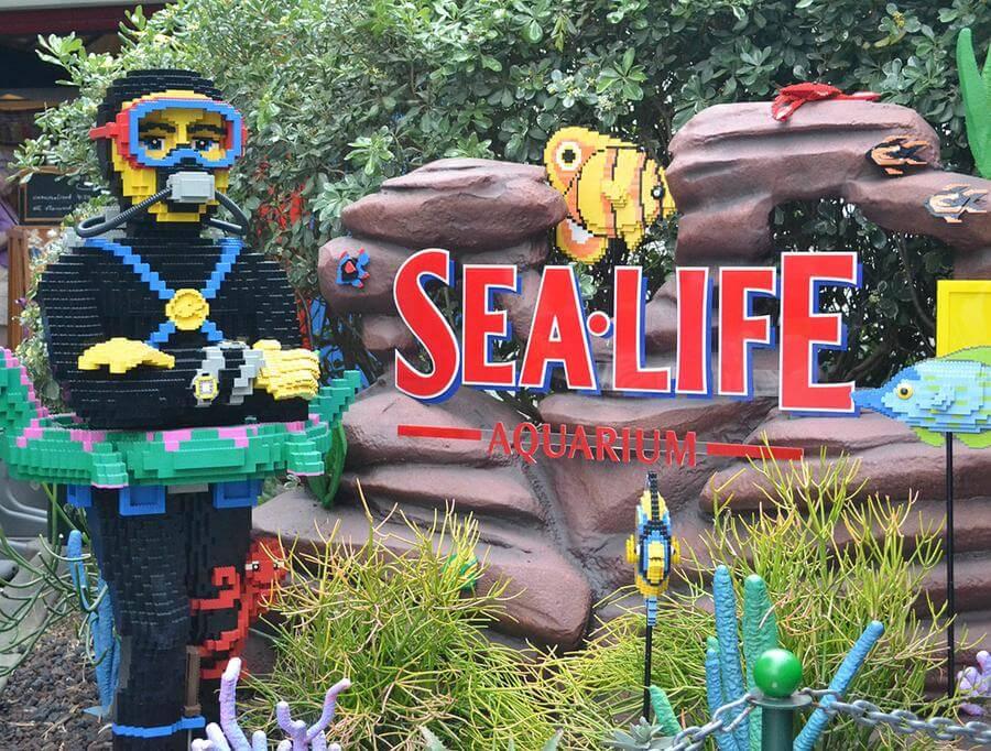 SEA LIFE Aquarium   LEGOLAND California discount tickets ...