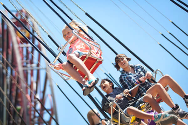 Silly Symphony Swings - Tandem