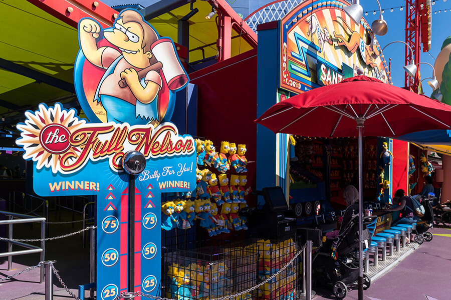 The Simpsons Carnival Games