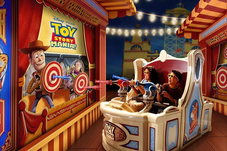 Toy Story Mania!® Attraction
