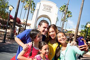 Universal Studios HollywoodTM Park Plan