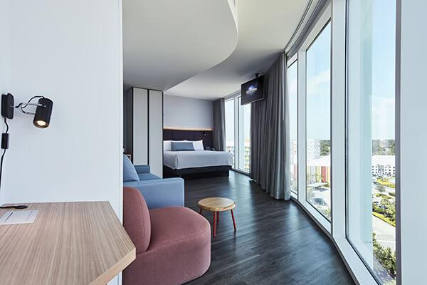 Rooms: Universal's Aventura Hotel
