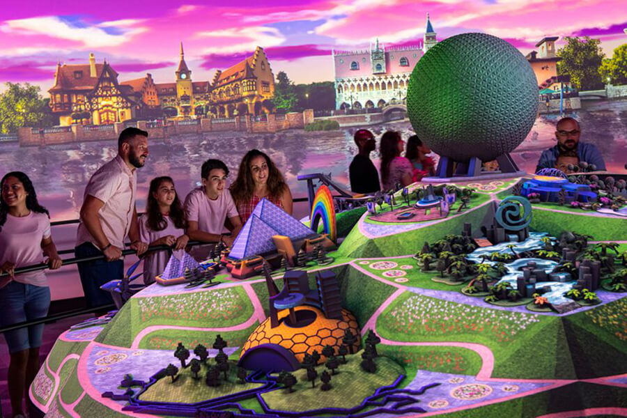 Walt Disney Imagineering presents the Epcot Experience