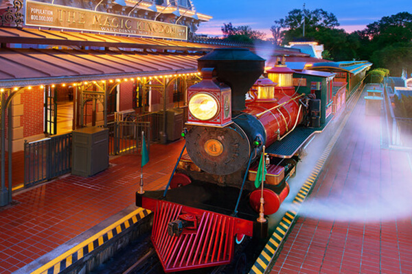 Walt Disney World® Railroad (Main Street, U.S.A.)
