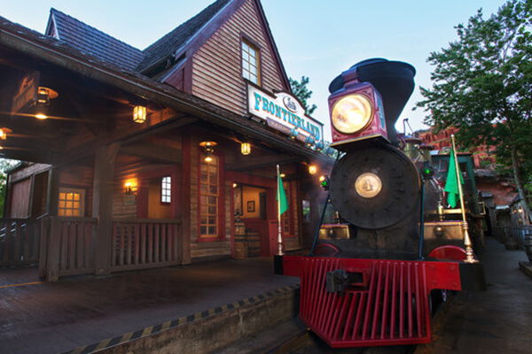 Walt Disney World® Railroad (Frontierland)