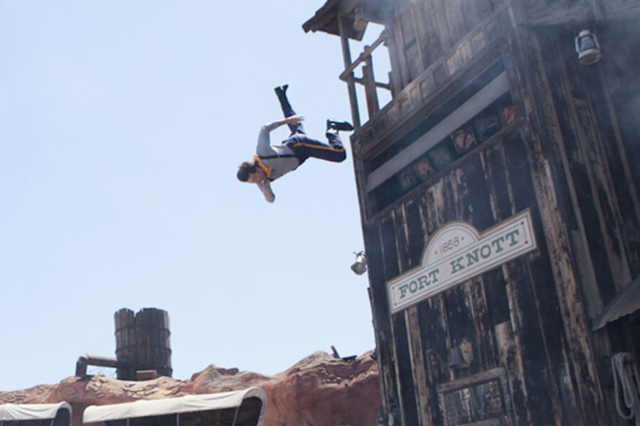 Wild West Stunt Show: Frontier Feats of Wonder
