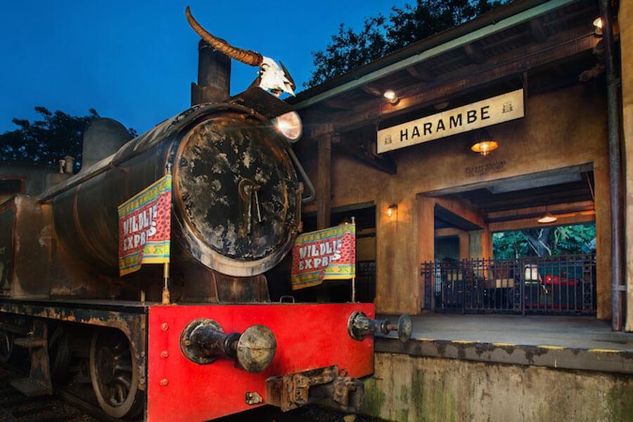 Wildlife Express Train - Harambe Station