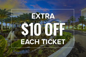 EXTRA $10 OFF Each Universal Orlando Ticket (Excludes 1-Day Tickets)
