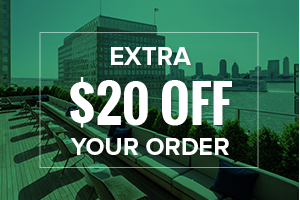 EXTRA $20 OFF your order