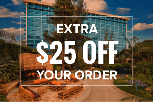 EXTRA $25 OFF your Disneyland Ticket + Hotel order (min. 2 night stay)