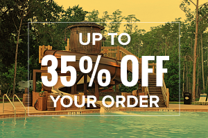 up to 35% OFF your order!
