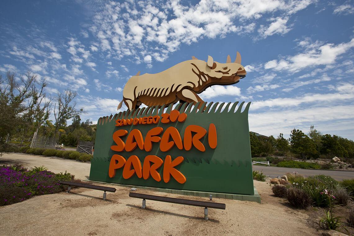 San Diego Zoo Safari Park: Kids FREE October PROMO 1-Day Pass
