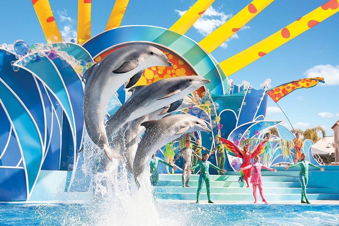 SeaWorld Orlando Busch Gardens Tampa Combo Fun Card Undercover