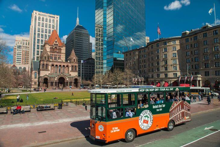 Boston Old Town Trolley 1-Day Ticket