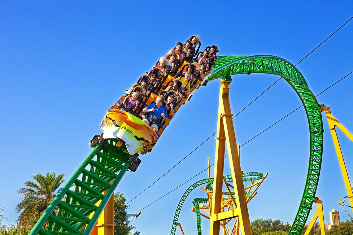 Busch Gardens Tampa Adventure Island One Year Pass Undercover