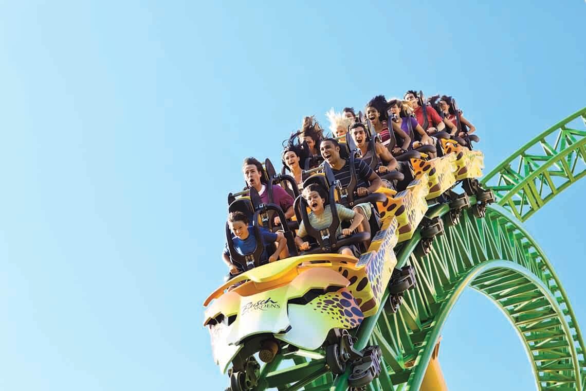 Busch Gardens Tampa Weekday Only Ticket (SPECIAL OFFER)