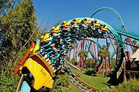 Busch Gardens Tampa Weekday Only Ticket (SPECIAL OFFER)