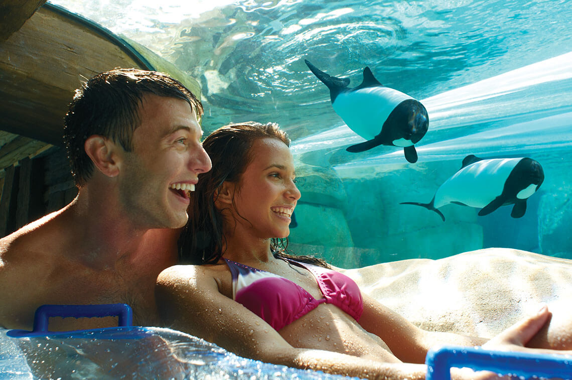 SeaWorld Parks: Three Park Ticket