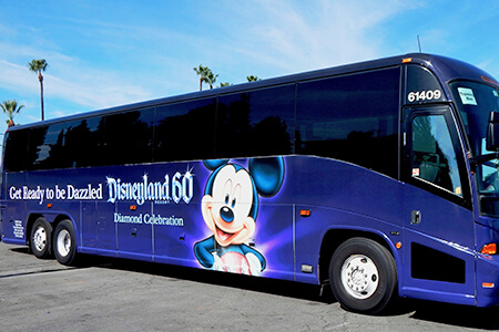 Disneyland Resort Express - Round Trip from/to LAX
