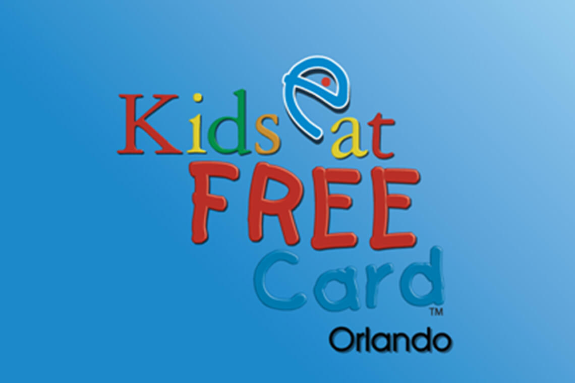 Kids Eat Free Orlando Card