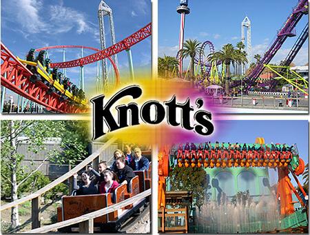 Knott's Berry Farm Single Day-Any Day Ticket (Season 1)