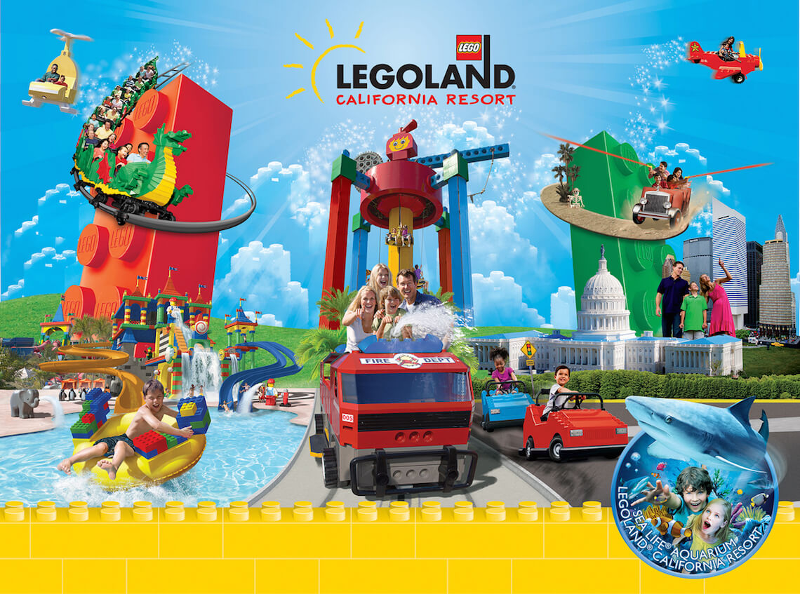 1-Day LEGOLAND California & Water Park Hopper + 2nd Day FREE