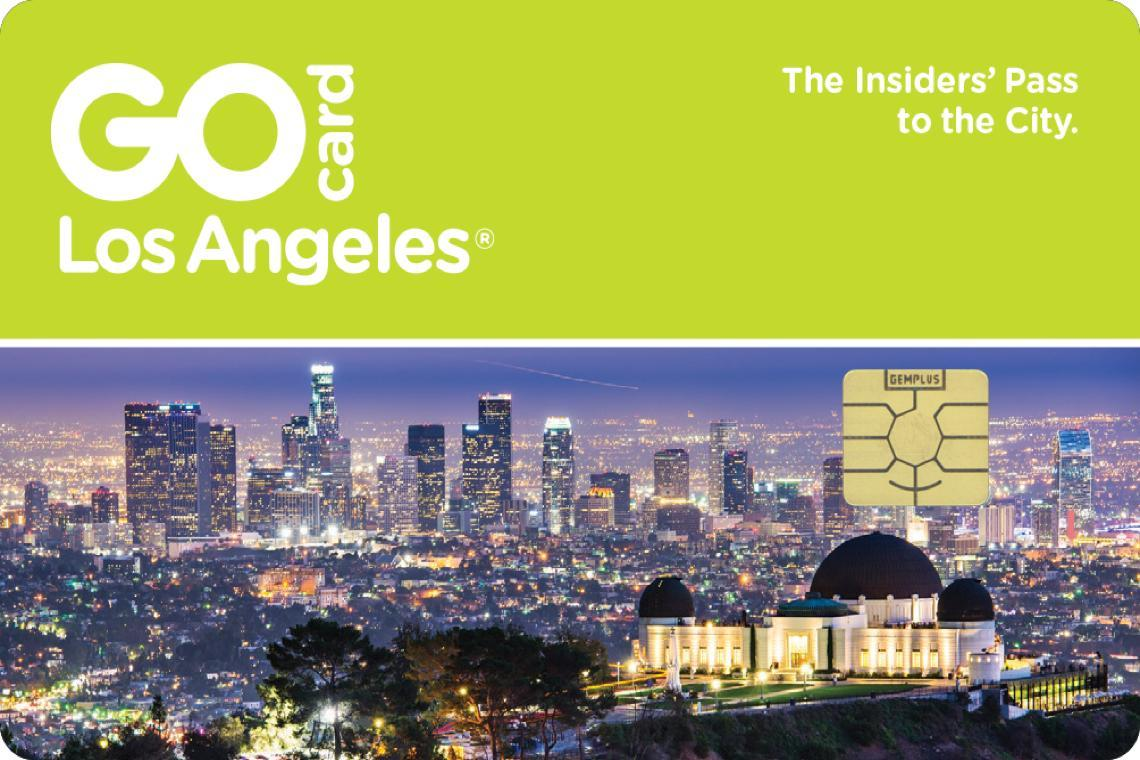 Los Angeles 2 Day Go Card