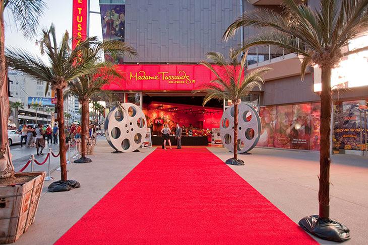 Madame Tussauds Hollywood: Admission + Marvel 4D