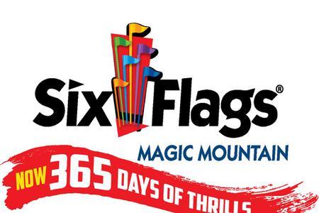 Six Flags Magic Mountain Admission