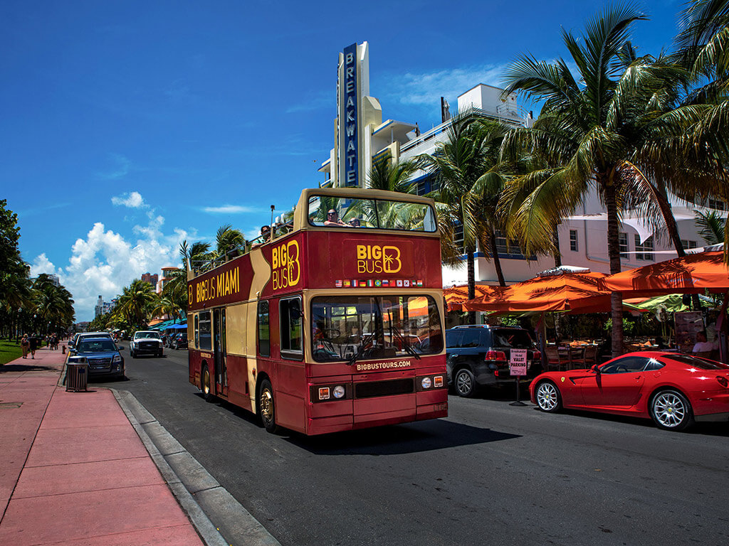 Big Bus Miami Hop-on Hop-off Tour