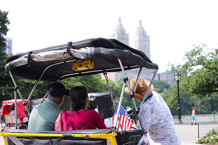 Unlimited Biking: Central Park Pedicab Tour
