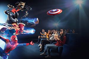 Madame Tussauds New York: Admission + Marvel 4D