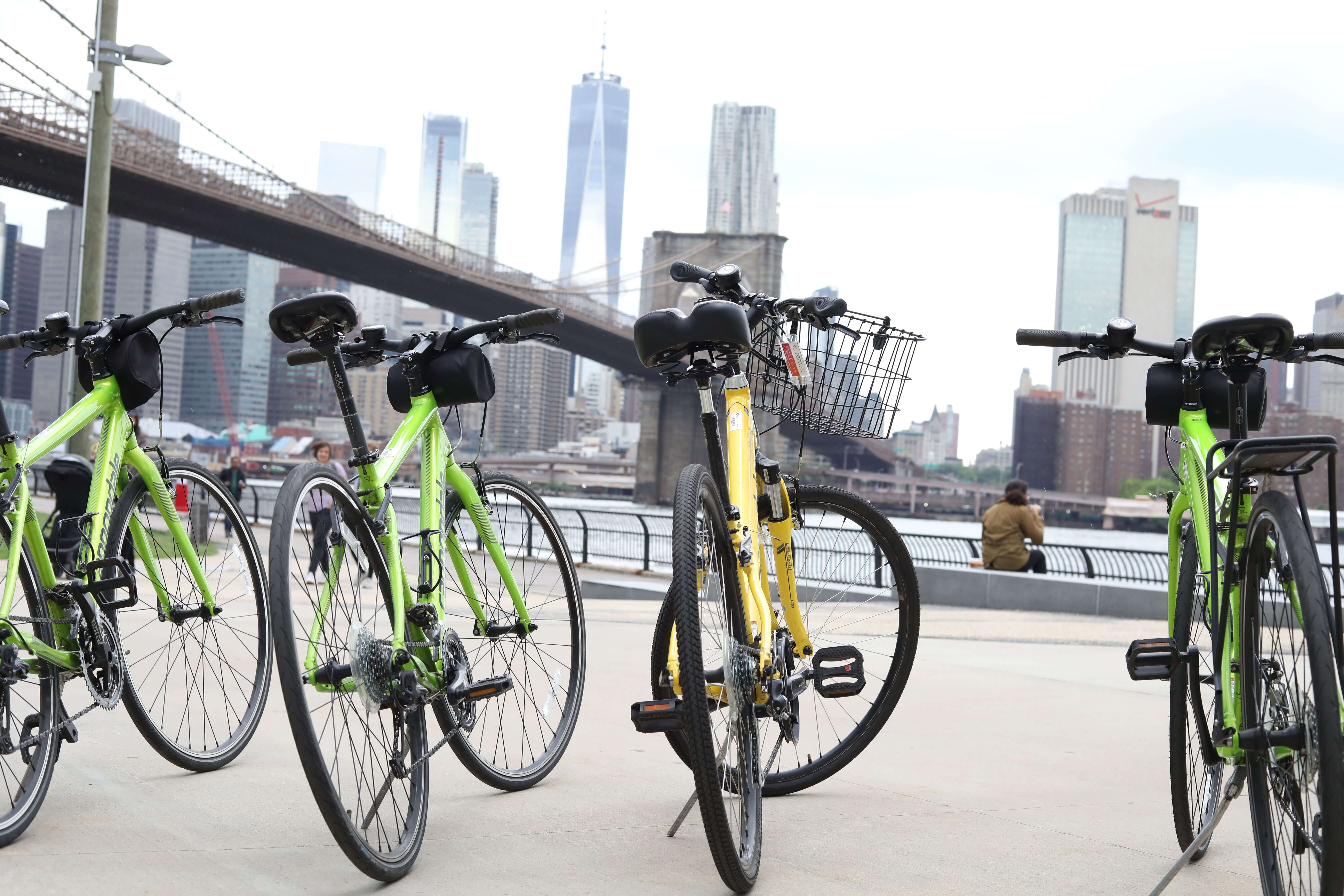 Unlimited Biking: New York E-Bike 2 Hour Rentals