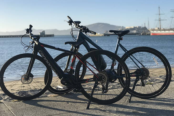 Unlimited Biking: San Francisco E-Bike Rentals