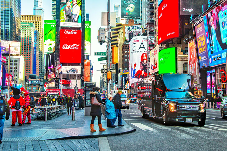 USA Guided Tours: Discover New York Bus Tour