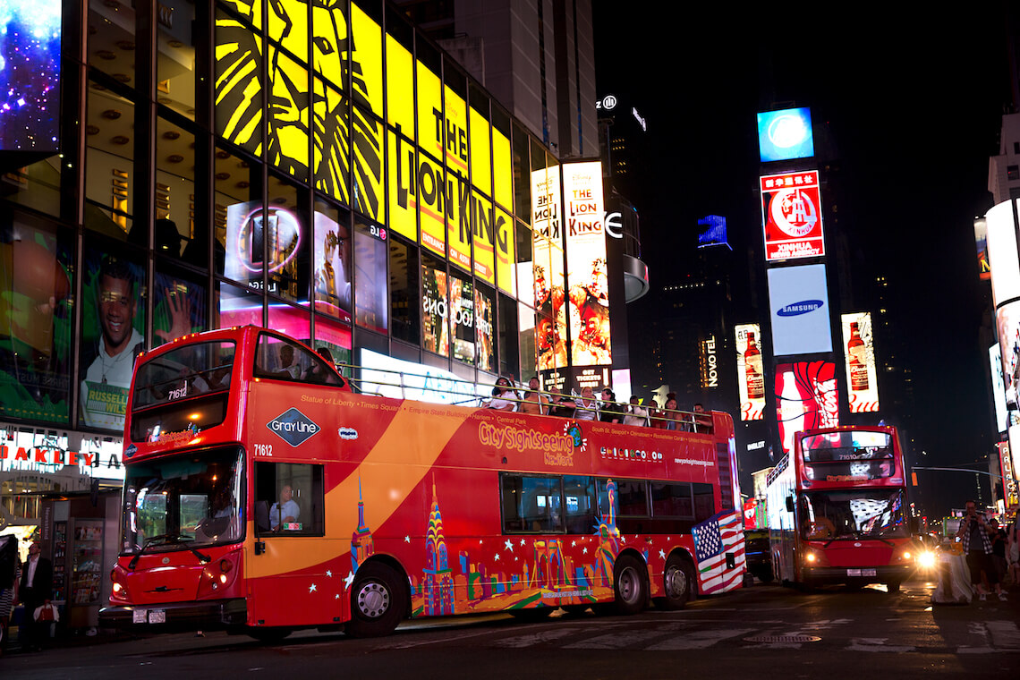 NYC Double-Decker Night Tour