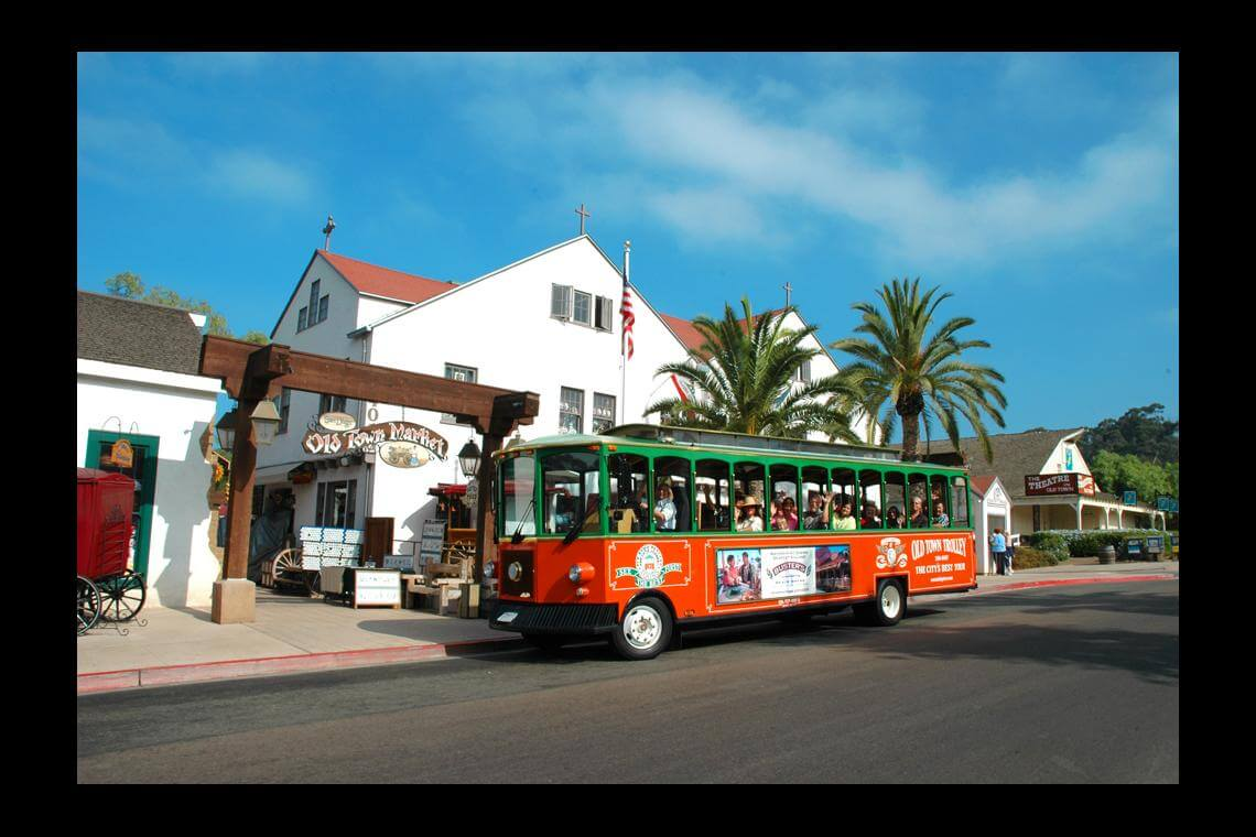 Old Town Trolley Tour of San Diego Kids FREE October PROMO