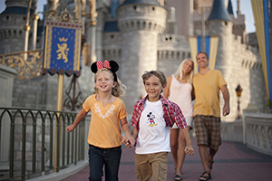 10-Day Disney Theme Park Ticket with Park Hopper® Plus Option