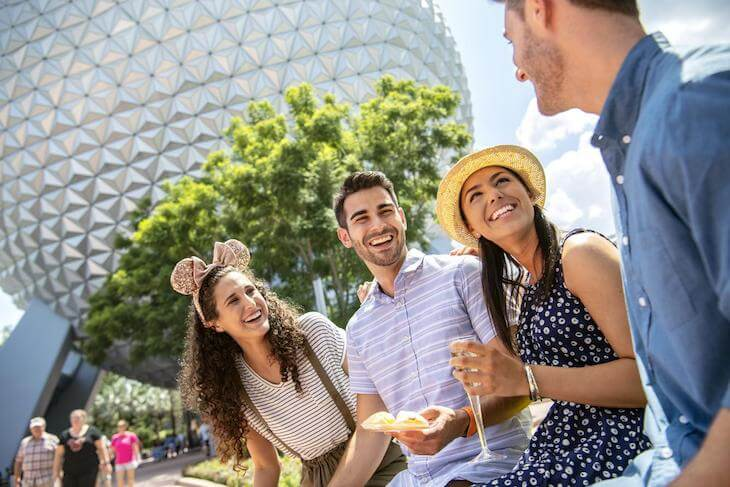 2-Day Disney Mid-Day Magic Ticket with Park Hopper® Option