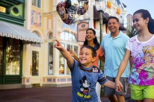 3-Day FL Resident Disney Theme Park Ticket with Park Hopper® Option
