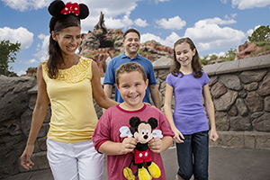 3-Day FL Resident Disney Theme Park Ticket with Park Hopper® Plus Option
