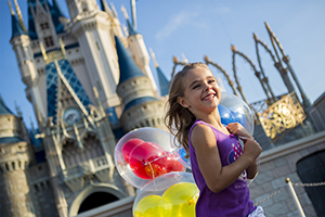 3-Day Disney Theme Park Ticket with Park Hopper® Option