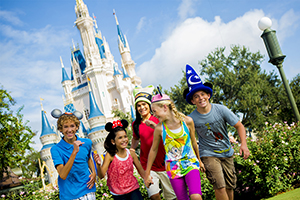 4-Day FL Resident Disney Theme Park Ticket with Park Hopper® Option