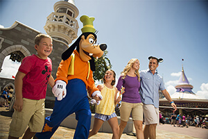 7-Day Disney Theme Park Ticket with Park Hopper® Plus Option