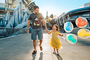 8-Day Disney Theme Park Ticket with Park Hopper® Option