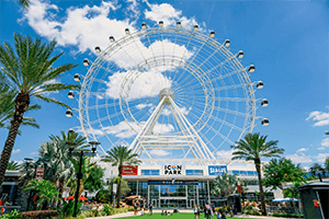 ICON Park: The Wheel + SEA LIFE + Madame Tussauds Orlando