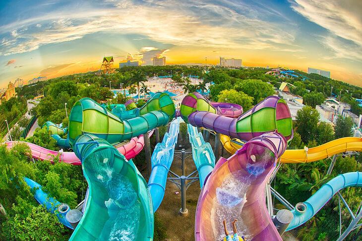 Aquatica Orlando Water Park Single Day Ticket + Meal (PROMO)