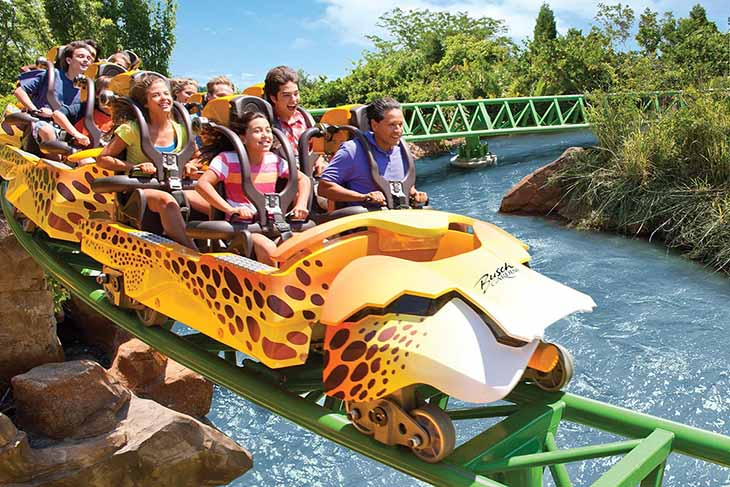 Busch Gardens Tampa 2021 Fun Card