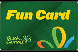 Busch Gardens Tampa 2021 Fun Card (PROMO)