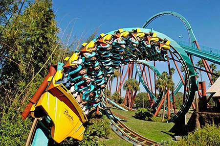 Busch Gardens Tampa & Adventure Island 2-Park Silver Annual Pass (PROMO)